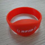 Wristband esperto da energia do silicone com RFID