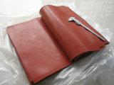 Темно - красный лист пены силикона, лист губки силикона для утюживя таблицы