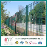 PVCによって塗られるヨーロッパのオランダによって溶接される塀またはオランダの金網のオランダ人の塀