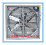 Drop hecho pivotar Hammer Ventilation Fan para Poultry House