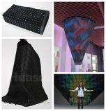 Étalage visuel flexible de rideau en DEL pour la publicité et l'exposition