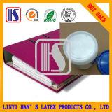 El pegamento líquido blanco respetuoso del medio ambiente del pegamento para el PVC hizo frente al fichero