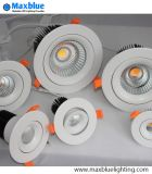 9W 12W 20W 30W 50W DEL Downlight avec la version de Dimmable