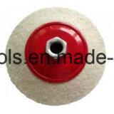 Rotella di lana del feltro per acciaio inossidabile