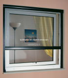 La prova di fuoco ingrana lo schermo dell'insetto di rotolamento della finestra di alluminio