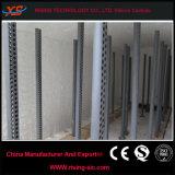 Horno industrial de carburo de silicio de tuberías de refrigeración