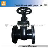 GOST 6 pulgadas moldeada Agua Válvula de compuerta de hierro 30CH6br