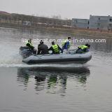 Liya barco inflable del barco PVC/Hypalon del tubo de los 2m a de los 7m