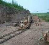 Machine de découpage diesel de Sawing de bloc de pierre de carrière de longeron de piste