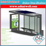 Автобусная станция/автобусная остановка укрытия шины зеленой силы панели солнечных батарей общественные