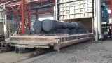 炭素鋼の造られたシャフトまたは鍛造材の船のプロペラシャフト、鍛造材の炭素鋼の海兵隊員のプロペラシャフト