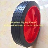 Полипропилен 6 дюймов и колесо PVC пластичное для вагонетки