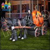 Spook dat het Opblaasbare Vervoer van Halloween voor Decoratie berijdt