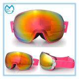 Pink Frameless Ski Eyewear Mulheres Snow Goggles Proteção UV