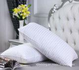 Подушка 100% волокна с продольно-воздушным каналом прокладки ткани Microfiber для гостиницы