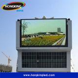 Fabrication professionnelle DEL extérieure de location annonçant l'écran