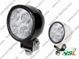 "12W 5 "" Road Vehicle、Atvs、Trucks、Bus Fog LightのためのLED Round Working Light"