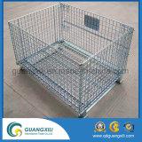 Cage de stockage en métal à rouleaux pliants de haute qualité Hot Sale