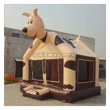 Tema vívido feito novo do cão 2016 Bouncer de salto inflável da casa