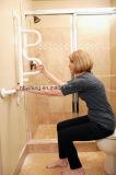 Штанга самосхвата туалета гандикапа кривого ванной комнаты для инвалид
