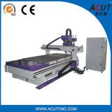 Máquina de gravura 4 de madeira pneumática do router 1325 de madeira do CNC