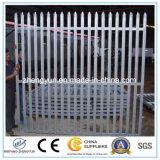 Palisade-Fechten/Metallzaun verwendeter Sicherheitszaun