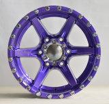 リベットが付いている美しいアフター・マーケットそしてSUVの車輪
