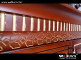 Welbomのえんじ色のチェリー木製グループの専門の食器棚デザイン