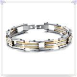 方法宝石類の魅力の宝石類のステンレス鋼のブレスレット(HR201)
