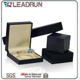 Calidad y de lujo del cuero caja de almacenaje de la joyería por joyas (Ys78)