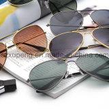 Óculos de sol clássicos por atacado do metal para o excitador