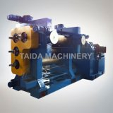 Xy 3/4f560X1600 3 4개의 롤 고무 장 달력 윤내는 기계