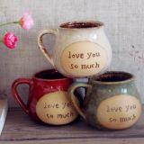De creatieve Ceramische Kop van de Kop van de Koffie van het Porselein van de Stijl van het Ontwerp Europese