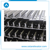 Carril de guía retirado a frío popular del elevador de 2017 T50/a (OS21)