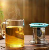 زاويّة فنجان هبة إبريق هبة زجاجيّة فنجان [تا كب] مع مرشّح