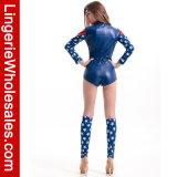 Сексуальная партия Halloween женщин полностью американский Costume Cosplay супер героя