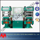 Hydraulische Presse-Vulkanisator-automatische Gummimaschinen-Vorlagenglas-Presse
