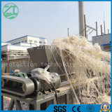 La plastica/gomma solida/acciaio residuo/possono/pneumatico/asta cilindrica biassiale/trinciatrice di legno industriale