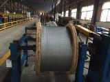El conductor de aluminio ACSR reforzado acero descubre el conductor