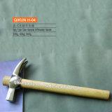 Трудный деревянный молоток розвальней ручки H-21