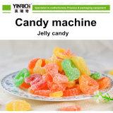 Línea de transformación del caramelo de la máquina del caramelo cadena de producción depositada del caramelo de la jalea para el caramelo de la jalea de la dimensión de una variable del oso (GDQ600)