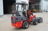 Electric Control를 가진 조밀한 600kg Mini Wheel Loader