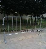 Загородка барьеров управлением толпы ног стальной квартиры временно
