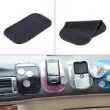 車の携帯電話のための黒い車のダッシュボードのケイ酸ゲルの反スリップのマット