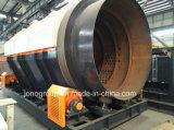 Tela do cilindro giratório com construção contínua