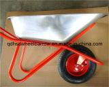 ステンレス鋼の電流を通された皿の手押し車Wb6418