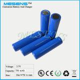 Ionennachladbare Batterie 3.7V des Lithium-14500 mit PWB