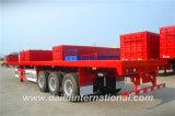 Ctsm 3 Semi Aanhangwagen van het Vervoer van de Container van Assen Flatbed 40FT