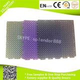 Qualité bon marché pp enclenchant le plancher durable extérieur composé imperméable à l'eau extérieur antidérapant modulaire de tuile