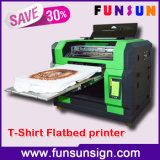 到着A3のサイズ熱い販売法のデジタル新しい綿の平面Tシャツの印字機